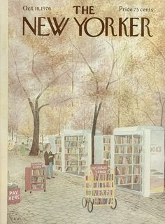 The New Yorker - Monday, October 18, 1976 - Issue # 2696 - Vol. 52 - N° 35 - Cover by : Arthur Getz
