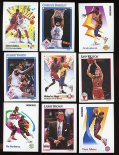 Check out this item in my Etsy shop https://www.etsy.com/listing/503359838/vintage-nba-1991-92-skybox-hoops-lot-of
