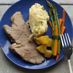 Healthy, simple meal ideas: Crock-Pot Pineapple and Brown Sugar Glazed Ham  #shopmeals #relayfoods