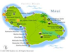 Awesome map of Maui!