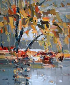 Josef Kote Original Acrylics on Canvas - Breath of Wind