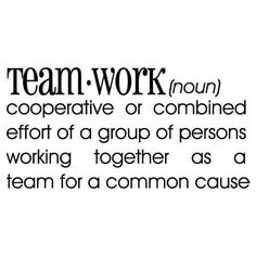 Team work definition