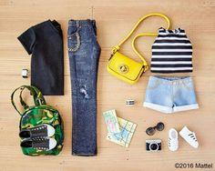 Barbie- the perfect Summer weekend getaway wardrobe!