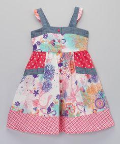 Parfait Pink Karis Dress - Toddler & Girls   something special every day Very cute!