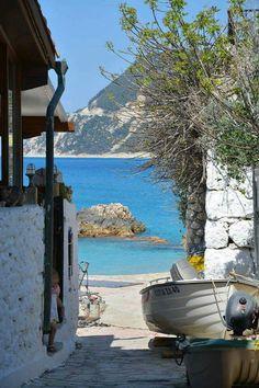 Steps to the Sea, Agios Nikitas Lefkada Island