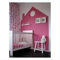 Www.babydekoration.dk blog Babydekoration kids room house walldecor wallsticker børneværelse vægdekoration
