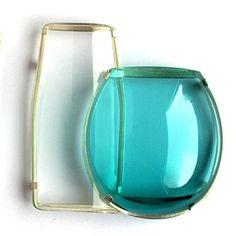 Gésine Hackenberg- Table Glass: Dutch/Finnish Still Life, Brooch