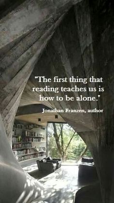 Jonathan Franzen ... A very important lesson