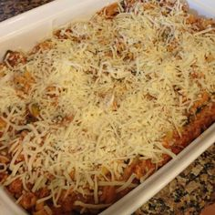 21 Day Fix Turkey & Veggie Packed Baked Ziti