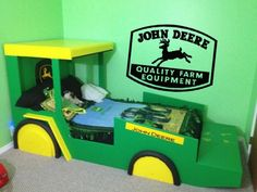 John Deere Vinyl Wall Sticker Decal Lettering | RemarkableWalls - Housewares on ArtFire