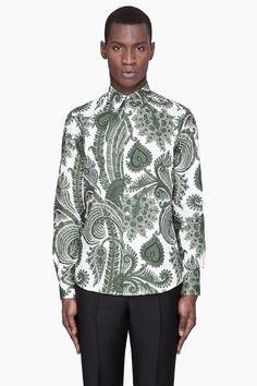 Givenchy Oversized Paisley Shirt