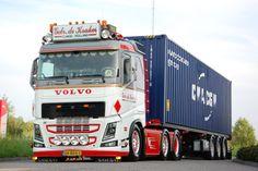 Mooiste Truck van Nederland 2016 All Truck, Train Truck, Road Train, New Trucks, Freight Transport, Container Truck, Scania V8, Truck Paint, Volvo Trucks