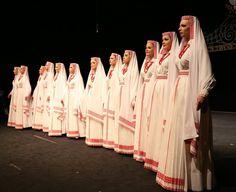 "Regional costumes of Biłgoraj, Poland [ZPiT ""Warszawianka""]. http://polishcostumes.tumblr.com/"
