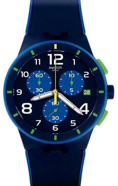 Reloj Swatch hombre Bleu Sur Bleu SUSN409
