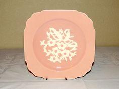 Vintage Harker Cameoware Pottery Plate by TimelessTreasuresbyM, $10.00