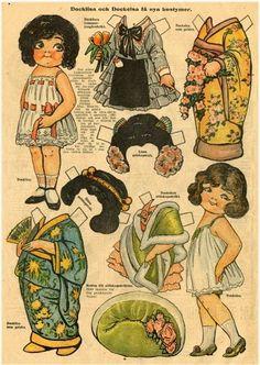 Las Recortables de Veva e Isabel: Dolly Dingle´s