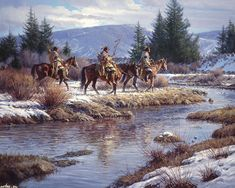 photos of Native American landscapes | Native American Art by Martin Grelle - Desktop Wallpaper