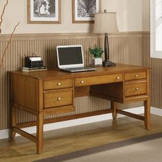 Gordon Writing Desk by Wynwood Furniture. $489.95. 1211-31 Features: -Writing desk.-Cable accessible centre.-Drop-front keyboard tray with pencil tray.-Left side has two drawers.-Left bottom drawer has removable drawer dividers.-Right side has file drawer. Dimensions: -Dimensions: 30'' Height x 62'' Width x 28'' Depth. Collection: -Gordon collection.