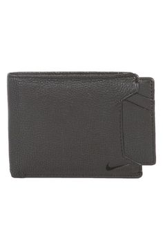 Nike Leather Wallet & Card Case available at #Nordstrom