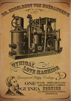 Steampunk Love Machine