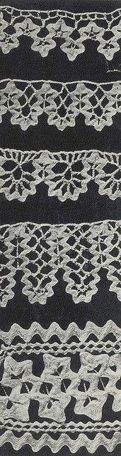 Crochet Edgings using Ric Rac.