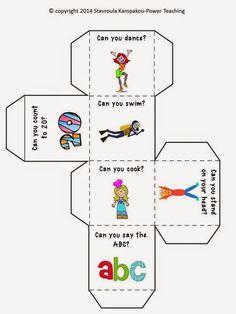 Multi-purpose Cubes English File, English Games, English Activities, Learn English, English Grammar Worksheets, English Vocabulary, English Language Learning, Teaching English, Printable Activities For Kids