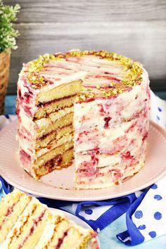 Ez a 7 legdögösebb tortánk Hungarian Desserts, Hungarian Recipes, Cold Desserts, Delicious Desserts, Cake Cookies, Cupcake Cakes, Desert Recipes, No Bake Cake, Vanilla Cake