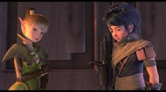 Liya-Elf Maiden & Lambert-Protagonist