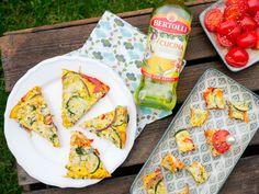 Zum Osterbrunch verrät uns die Foodbloggerin Gaumenfreundin ihr Rezept für eine herzhafte Süßkartoffel-Frittata mit Bertolli Cucina Olivenöl.