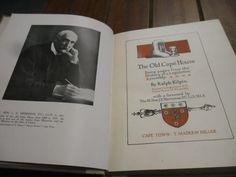 Africana Books - RALPH KILPIN - THE OLD CAPE HOUSE - LEGISLATIVE ASSEMBLY 1918 MASKEW MILLER RARE ILLUS HARDBACK ED. for sale in Napier (ID:179956610)