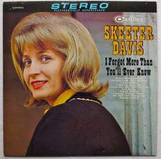 Skeeter Davis 1964 I Forgot More Than You'll Ever Know 1960s Vintage Vinyl LP Album 1 | Flickr - Photo Sharing!