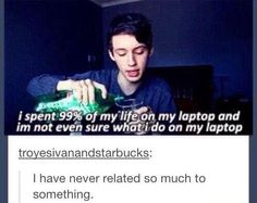 What do I even do on my laptop?