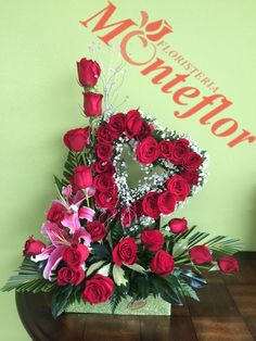 Valentine Flower Arrangements, Funeral Floral Arrangements, Large Flower Arrangements, Valentine Decorations, Flower Decorations, Valentine Tree, Valentines Flowers, Nylon Flowers, Balloon Flowers