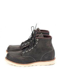 dac8eae9db24 Redwing 8890 Moc Toe Charcoal Boot