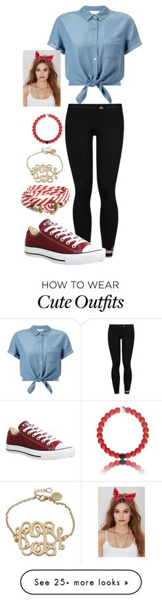 """Cute outfit"" by ivoryvixen on Polyvore featuring Miss Selfridge, adidas, Converse, Brooks Brothers and NOVA"