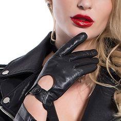 MATSU Classic Women Driving Touchscreen Lambskin Leather Gloves Available for Rivets DIY #9237 (L, Black) Matsu Gloves http://www.amazon.com/dp/B011N5Q0TA/ref=cm_sw_r_pi_dp_CnJ-vb1A1GH13