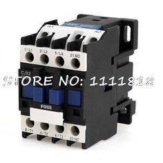 19.83$  Buy now - 660V 20A 3 Phase 3P N/C AC Contactor DIN Rail Mount 220V Coil CJX2-09  #buyonlinewebsite