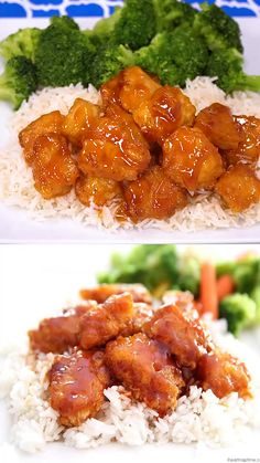 Sweet and Sour Chicken - Skip the take out and make this delicious recipe at home! The sweet and sour sauce is absolutely to die for. Serve with rice and fresh vegetables for the perfect dinner! food recipes videos chicken Sweet and Sour Chicken Homemade Chinese Food, Easy Chinese Recipes, Asian Recipes, Chinese Desserts, Oriental Recipes, Thai Recipes, Easy Recipes, Chicken Recipes At Home, Baked Chicken Recipes