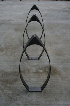 Simple bike rack