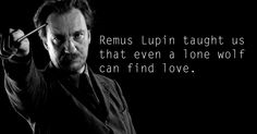 Remus Lupin - See the 30 Things That Harry Potter