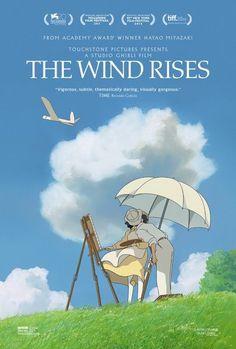 2. El viento se levanta, 2. EL VIENTO SE LEVANTA  No se puede concebir nada más bonito (ni más Ghibli). La gran despedida de Hayao Miyazaki se promocionó a través de varias variaciones del esquema aviones de papel + paisaje de acuarelas + majestuosidad del cielo, pero este se lleva la palma por el pequeño momento de calor humano que sus personajes capturan para la eternidad. Una joya pictórica que ataca directa al corazón.