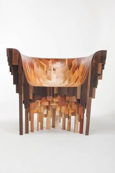 Wood Chair A throne or a chair? Roccapina 7 commands its space and truly stands out, but yo… Furniture Ads, Furniture Projects, Luxury Furniture, Wood Furniture, Furniture Design, Furniture Removal, Plastic Plumbing Pipe, Wooden Couch, Diy Chair