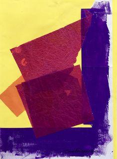 """24 / SARA MONTANI, """"IN SCENA"""", 2013, collage e acrilico, 20 x 30 cm."""