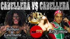 BÁRBARO CAVERNARIO VS REY COMETA CABELLERA VS CABELLERA CMLL 1/JUL/2016