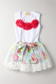 Mia Belle Baby... If i ever have a baby girl! love the skirt