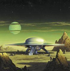 Cruiser C57D - Forbidden Planet (1956)