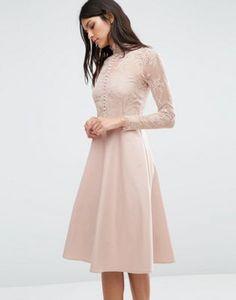 Y.A.S – Kleid mit Spitze