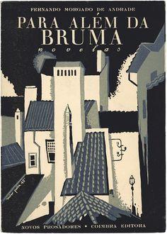 Design by Victor Palla, 1 9 4 5, Para além da bruma, Fernando Morgado de Andrade, Coimbra Editora.