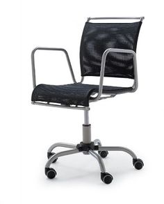 The Calligaris Air Race Chair is produced by Calligaris of Italy. Office Computer Desk, Study Office, Home Office Desks, Small Computer, Black Office Chair, Black Desk, Home Office Furniture Uk, Uk Homes, Bedroom Chair