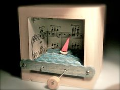 Sailboat music box